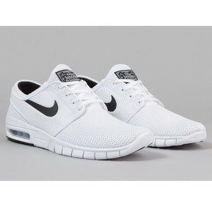 Nike white black mens 9